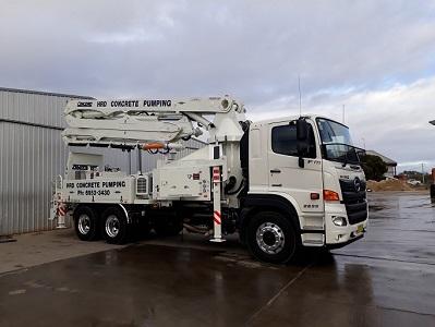 HRD Ready Mix | 30m Concrete Pump Truck