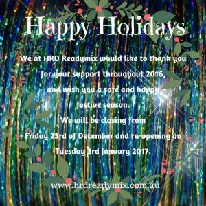Christmas Closing 2016